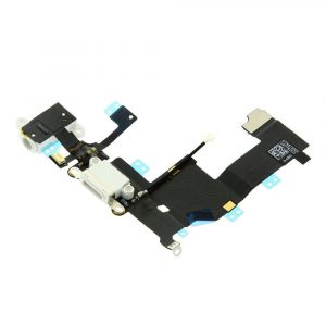 Charge Connector Flex Cable - iPhone 5G White