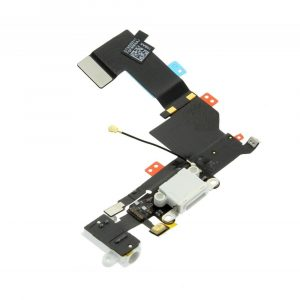 Charge Connector Flex Cable - White  - 5S