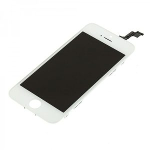 iPhone 5S Black LCD Screen  - White  - 5S