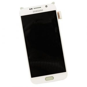 LCD Touchscreen WHITE, Galaxy S6; G920
