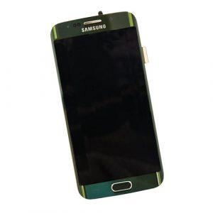 LCD Touchscreen Assembly GREEN, Galaxy S6 EDGE; G925F,