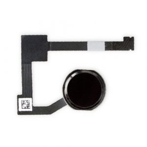 IPAA206 - iPad Air 2 Home Button with Flex Cable Space Gray - Minpex.nl