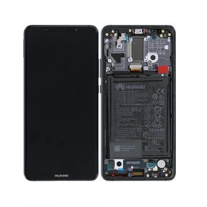 HUAM10P01 - Huawei Mate 10 Pro LCD + Digitizer + Smallparts – Titanium Gray - minpex.nl