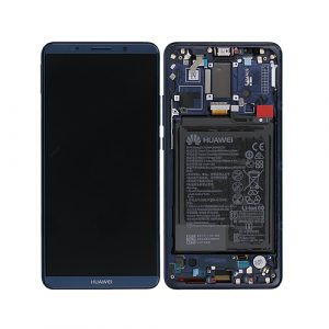 HUAM10P02 - Huawei Mate 10 Pro LCD Digitizer Smallparts – Midnight Blue - minpex.nl