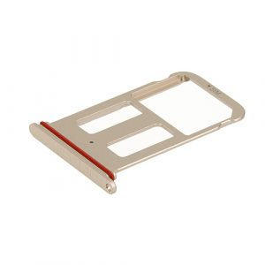 HUAM10P09 - Huawei Mate 10 Pro Sim tray SD Card Holder Pink Gold - minpex.nl
