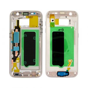 Wholesale Middle Cover Gold Galaxy S7 | Minpex