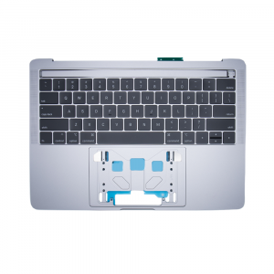 Wholesale Top case + Keyboard US MacBook Pro 15 inch Retina Space Gray front | Minpex